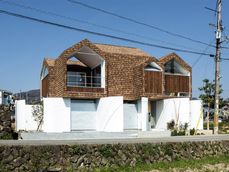 日本柱座住宅
