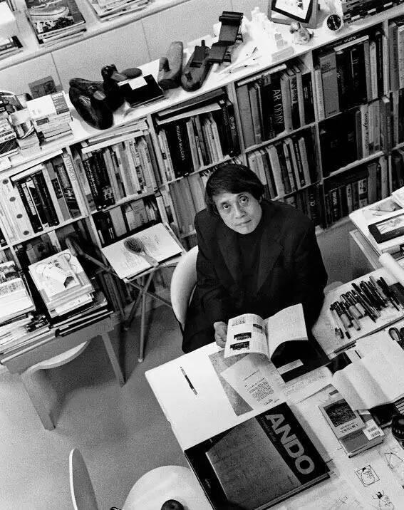 [大师]安藤忠雄(Tadao Ando)位于家乡大阪的工作室
