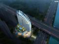 """99米高""""巨舰""""性状福州闽侯酒店项目文本成图图纸"""