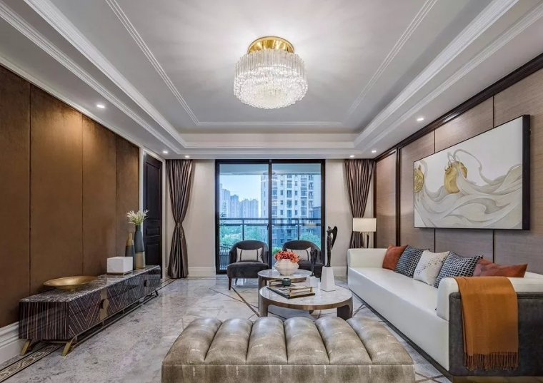 郑州亚星观邸新古典风格住宅
