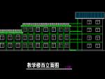 某农村中学建筑施工全图