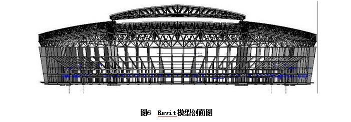 某体育中心体育场bim应用