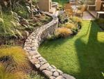 一面墙,美了一个院子