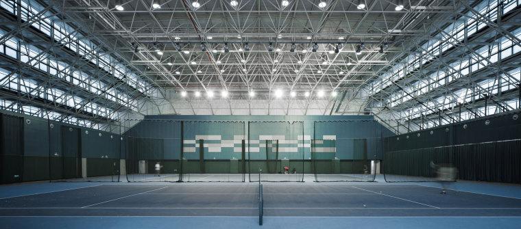 临安半透明轻盈的体育文化会展中心内部实景图 (20)