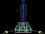 华东设计院——中式风格南山观音圆通宝殿归档建筑施工图
