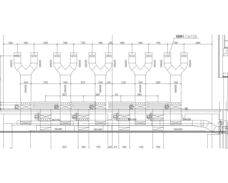 [天津]师范大学体育馆施工图(含中央空调系统、地暖系统、通风系统、防排烟系统)