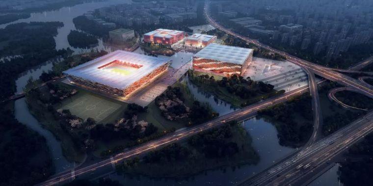 成都皇冠湖体育中心项目设计