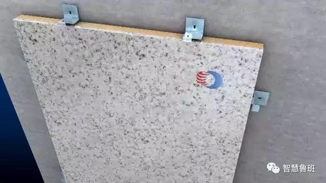 建筑外墙干挂石材不用龙骨,保温同步完成,石材厚度还能减半_11