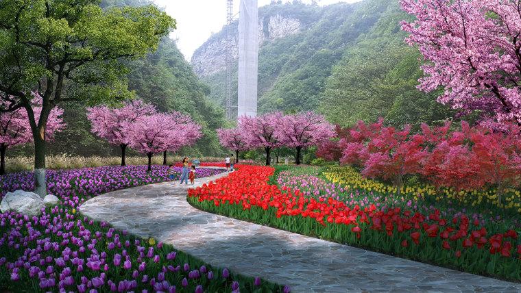 农旅景观:贵州云溪谷设计图_3