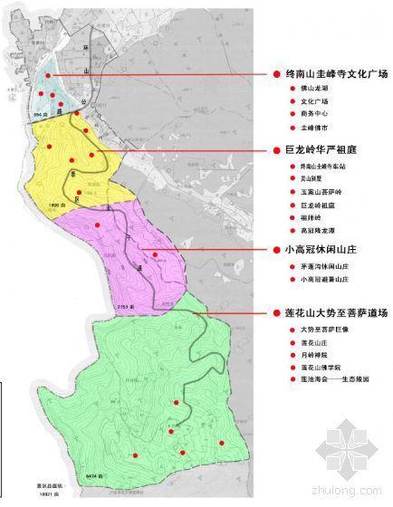 终南山圭峰寺可研报告包括财务分析及总体规划图(已使用)