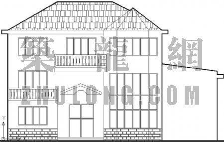 比较完整的别墅施工图