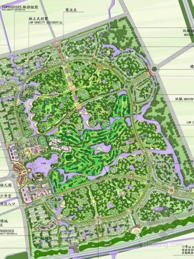 [上海]别墅区高尔夫球场概念性规划