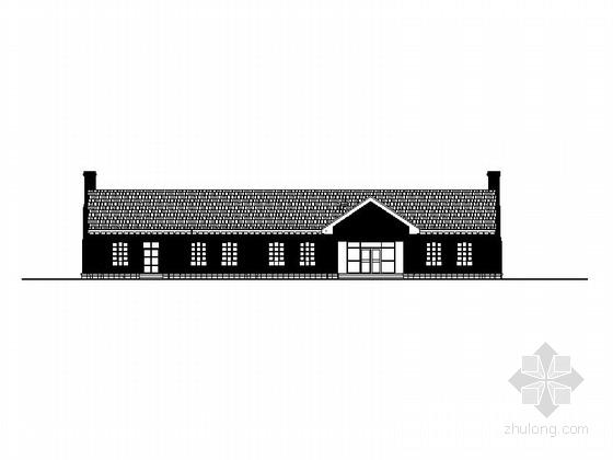 [辽宁]单层农家乐餐厅建筑施工图