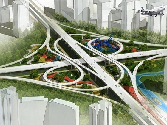 [浙江]绿色城市机场周边道路绿化设计方案