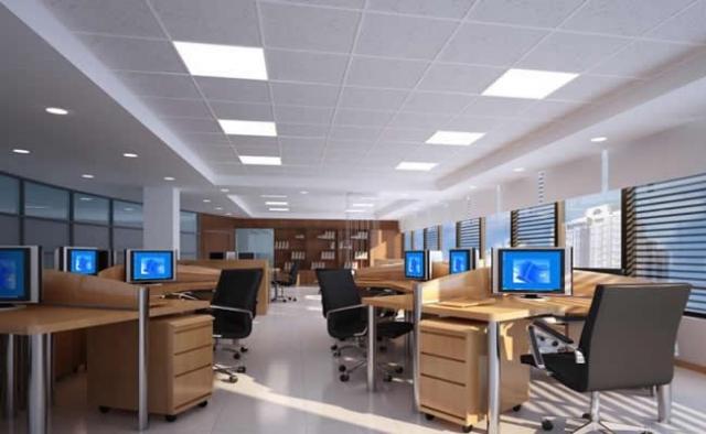 办公室内装饰装修设计的原则 四川1769装饰图片