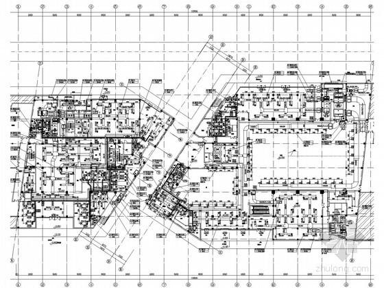 [烟台]展览馆空调通风设计全套施工图纸(顶级设计院)