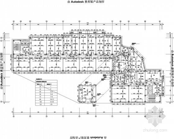 [黑龙江]高层高档住宅小区别墅区给排消防施工图(多功能厅 游泳池)