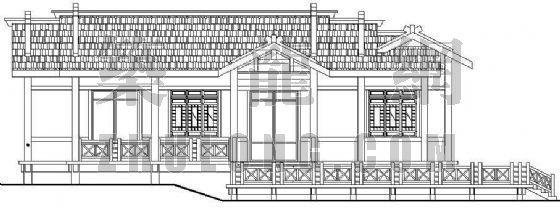 某公园茶室建筑及结构施工图