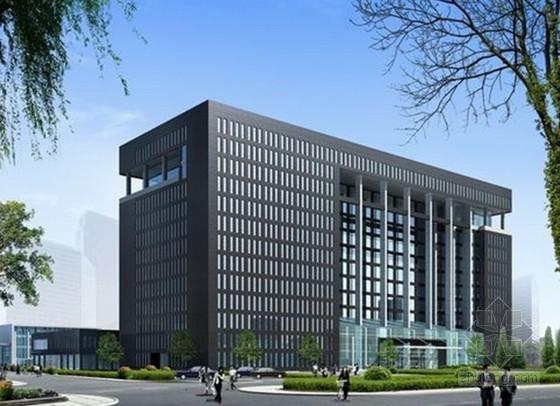 [北京]研究院外墙装饰施工方案(干挂石材、玻璃幕墙)