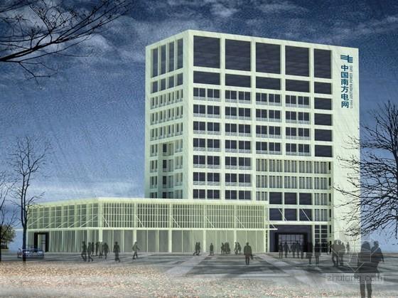 [广州]某电网办公楼方案设计