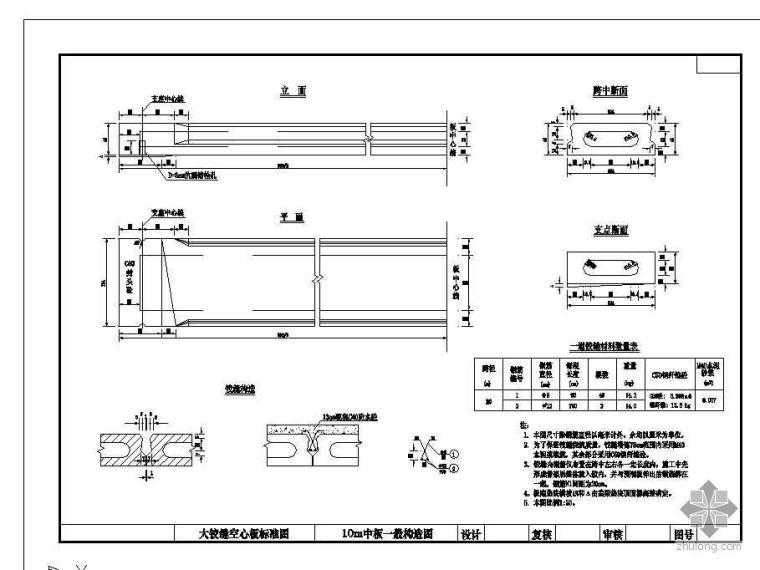 空心板设计图