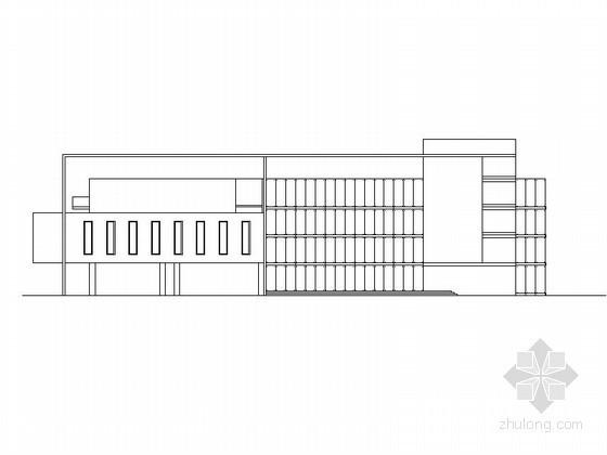 [毕业设计]某五层图书馆建筑方案图