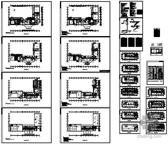 广州某电视中心VRV系统设计全套图