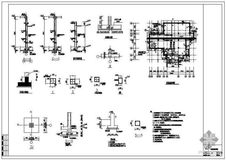 某别墅结构设计图