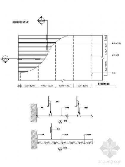 铝扣板吊装详图
