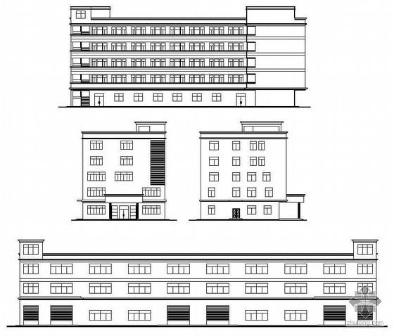 [东莞]某工厂多层厂房、宿舍、办公楼全套建筑施工图