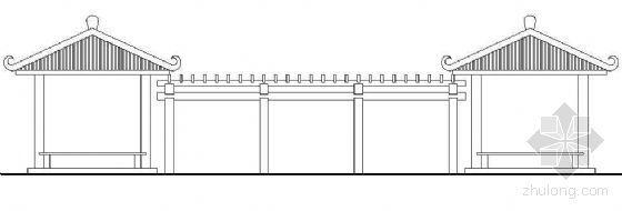 组合亭架建筑详图