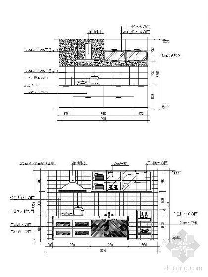 厨房立面设计图汇集