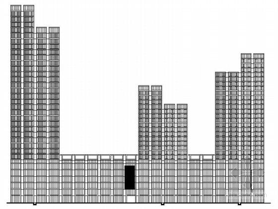[浙江]某办公综合体规划及单体设计方案图(含效果图)