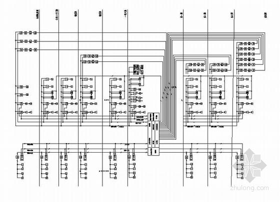 某高层建筑全套电气系统图