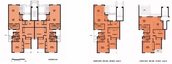 住宅区分析图平面图