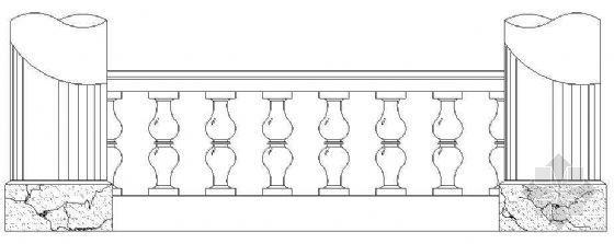 欧式栏杆详图28
