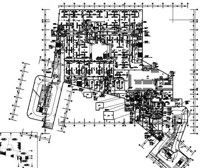 [江西]高层住宅商业综合楼空调通风防排烟系统设计施工图(节能)