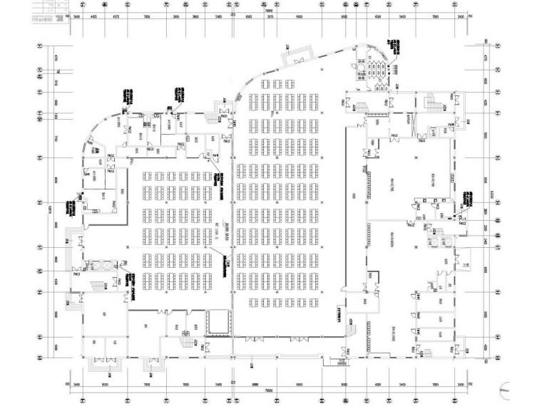 [湖南]教学楼及食堂通风防排烟系统设计施工图