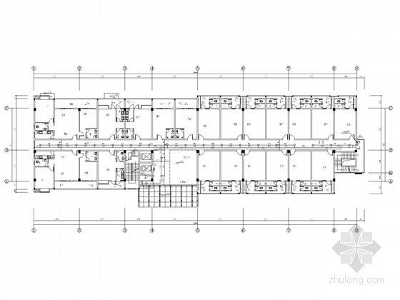 [广西]七层员工宿舍楼给排水施工图