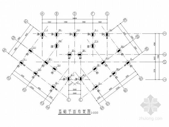 [江西]六层框架结构棚户区结构改造施工图