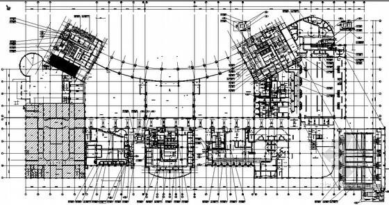 [安徽]五星级大酒店暖通空调设计施工图(3幢高层建筑)