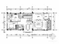 [广东]夏日地中海三层别墅样板房室内设计施工图(含效果)