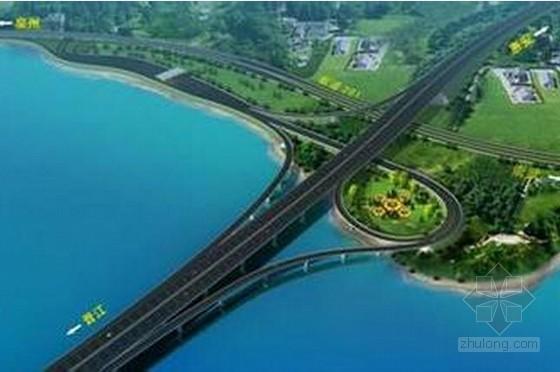 [福建]跨海大桥互通主线桥及接线桥涵路基工程施工组织设计400页(群桩基础)