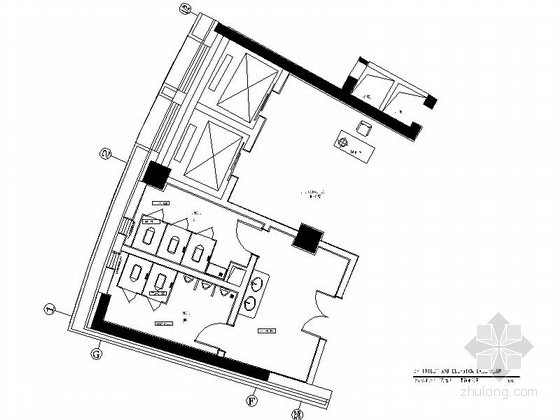 高层公共卫生间装修图