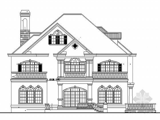 某三层独立别墅建筑设计规划方案
