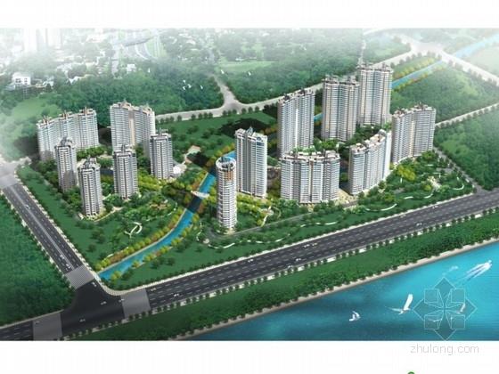 [杭州]某住宅小区规划及单体设计方案文本(含模型)