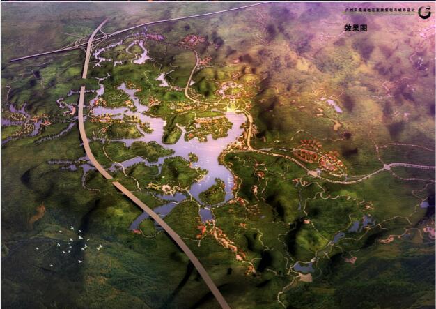 过账天鹿湖地区发展策划与城市设计项目-03效果图