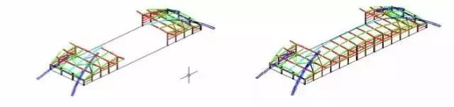 大跨度拱形钢结构安装施工工法_13