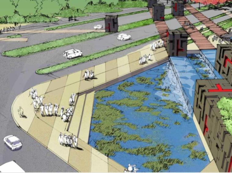 [江苏]全套超详细苏通科技产业园首期道路景观绿化方案设计(传统,历史)