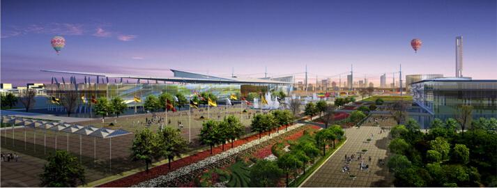 上海世博会规划设计方案文本-03效果图